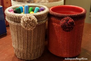 Upcycled Art Supplies