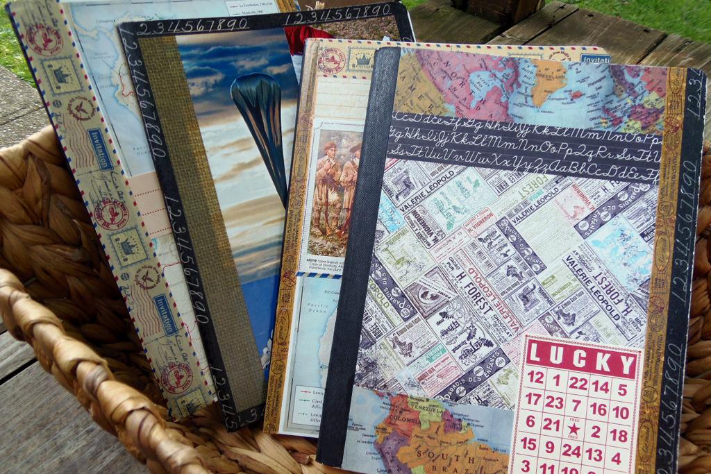 upcycled notebooks